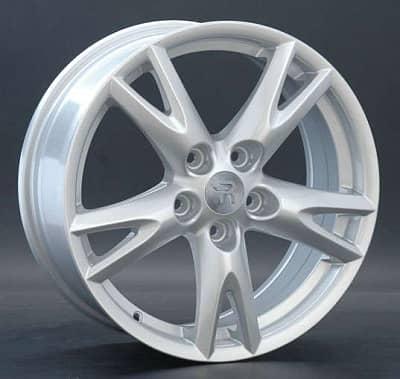 Диск колесный Replay MZ51 7xR17 5x114,3 ET50 ЦО67,1 серебристый 021451-040124004