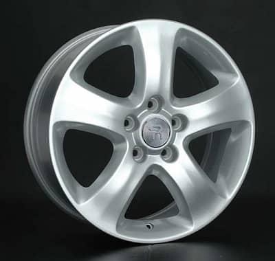 Диск колесный Replay HND182 6,5xR17 5x114,3 ET48 ЦО67,1 серебристый 033475-990143004