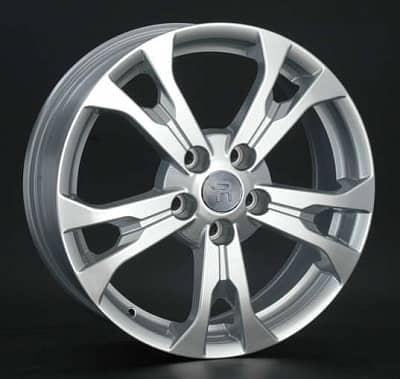 Диск колесный Replay KI106 6,5xR17 5x114,3 ET35 ЦО67,1 серебристый 035856-990146007
