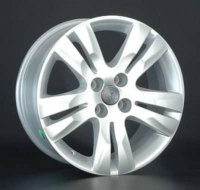 Диск колесный Replay PG23 7,5xR17 4x108 ET29 ЦО65,1 серебристый 019403-070034008
