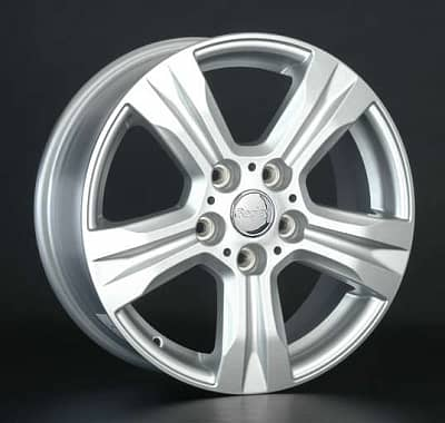 Диск колесный Replay LF13 6,5xR16 5x114,3 ET45 ЦО60,1 серебристый 026818-180154004