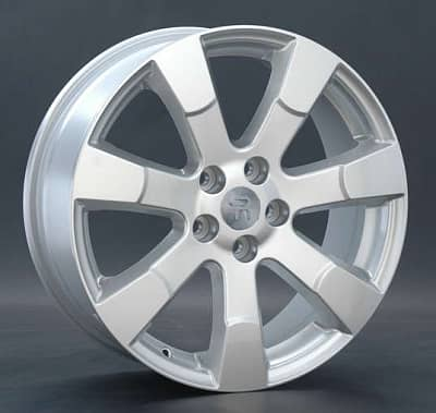 Диск колесный Replay H57 7xR18 5x114,3 ET50 ЦО64,1 серебристый 022560-050121003
