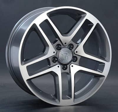Диск колесный Replay MR76 8,5xR18 5x112 ET28 ЦО66,6 серый глянцевый с полированной лицевой частью 014010-040060006
