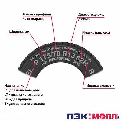 Шина автомобильная Pirelli Chrono 2 195/70 R15, летняя, 104/102R