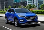 Защита переднего бампера d57+d42 (нержавеющая сталь, серебристый) Rival R.2311.001 Hyundai Tucson 2018 -