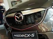 Накладка на решетку радиатора (нержавеющая сталь) Croni MA01GP Mazda CX-5 2012 - 2014