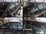 Дефлекторы боковых окон, 4 части (темные) Breeze EGR BRFOCUS08SW Ford Focus (2G) 2005-
