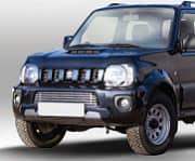 Решетка в бампер 16 мм - черные заглушки Souz-96 SUJM.96.2825 Suzuki Jimny (3G) рест. 2 2012-