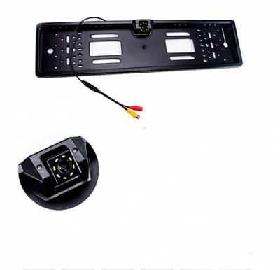 Водонепроницаемая камера заднего вида для автомобилей с функцией ночного видения в рамке под номерной знак Gallop GLPP-00-100